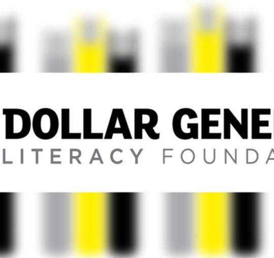 Dollar General Literacy Foundation 2019 Grant for $8,000